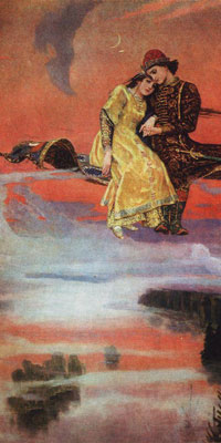 Magic Carpet by Viktor Vasnetsov