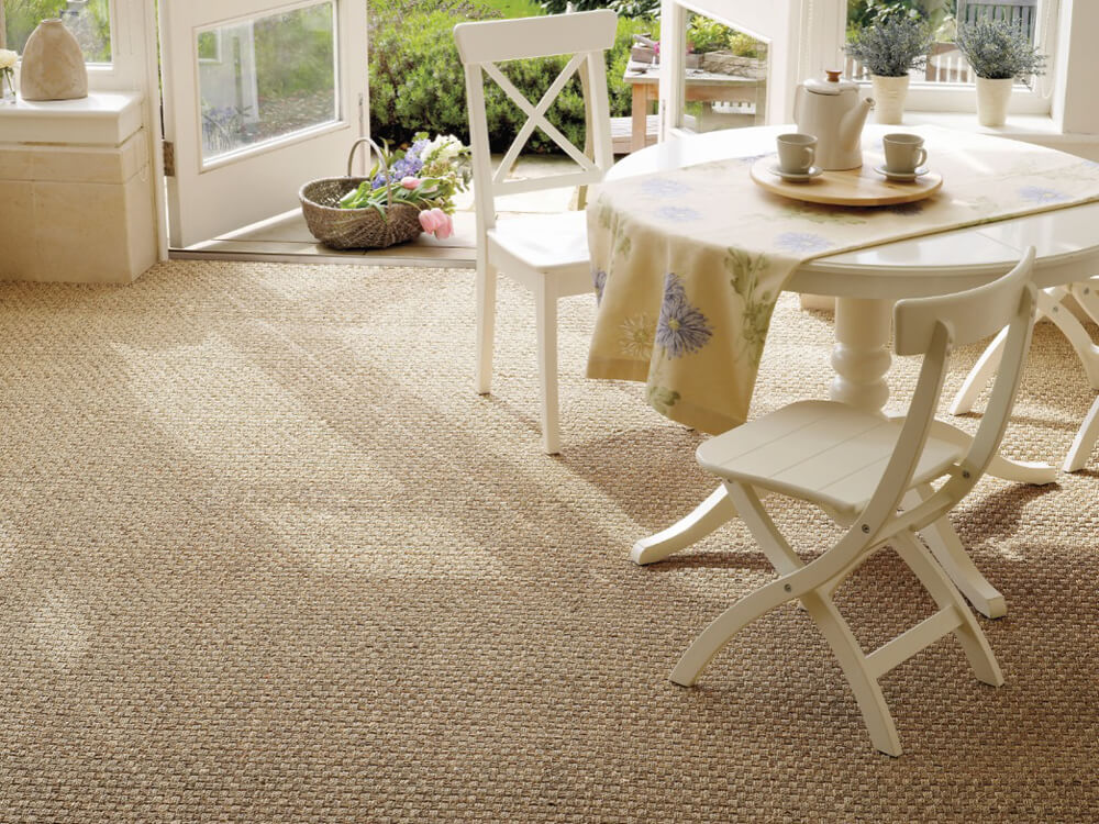 Kersaint Cobb Seagrass Basketweave Carpet
